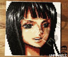 Nico Robin - One Piece perler beads by unpixable_
