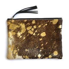 Jem in Gold Devore - Accessories - Mooi