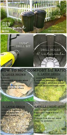 DIY inexpensive Compost Bin How to build your own| ahealthylifeforme.com