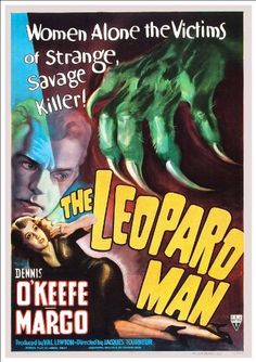 Fantastic A4 Glossy Print - 'The Leopard Man' (1943) - Taken From A Rare Vintage Movie / Film Poster (Vintage Movie / Film Posters) by Unknown http://www.amazon.co.uk/dp/B005PPR6Z2/ref=cm_sw_r_pi_dp_tVHtvb0Y4TQM3