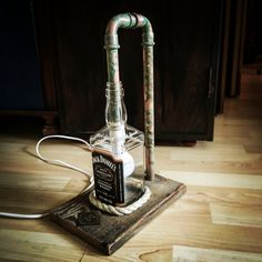 Lamp Jack Daniel's. Handemade