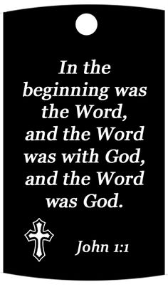 In the Beginning…..