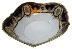 Cobalt & Gold Noritake Bowl