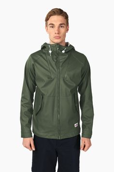 Penfield.com | Mens Gibson Weatherproof Olive Jacket