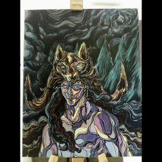Painting,acrylic on canvas by #Yakindark