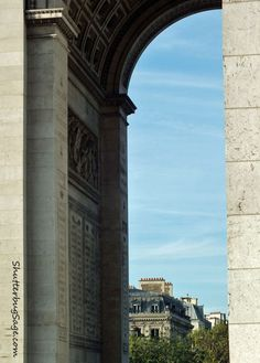 L'Arc de Triomphe  Arch of Triumph  Paris, France