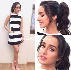 shraddha-kapoor-in-alice-olivia-at-baaghi-promotions-beauty-and-fashion-freaks Girl Photo Poses, Girl Photos, Sraddha Kapoor, Jacqueline Fernandez, Beautiful Bollywood Actress, Hollywood Fashion, Bollywood Stars, Celebs, Celebrities