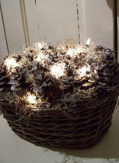 pinterest mooie mandjes met witte bloemen landelijk - Google zoeken