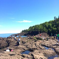 Family trip includes Marquette, Pictured Rocks and waterfalls in this Michigan vacation plan for kids in the Upper Peninsula. Michigan Vacations, Grand Marais, Picture Rocks, Upper Peninsula, Family Travel, Dolores Park, Waterfall, Outdoor, Family Trips