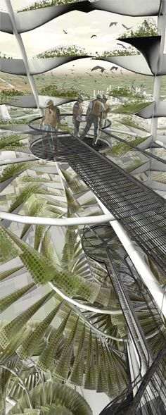 Urban Vertical Farming: Generative System for a Vegetable Growing Infrastructure - eVolo | Architecture Magazine
