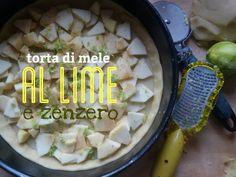 Preparazione di crostata di Pastafrolla con mele zenzero e lime