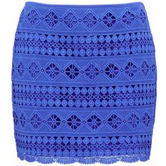 Forever New Aurora Crochet Mini Skirt