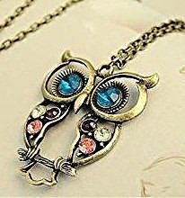 Vintage Owl Necklace for $1.09 SHIPPED!  http://www.discountqueens.com/vintage-owl-necklace-109-shipped/