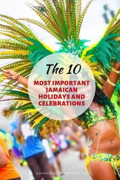 If you plan on visiting Jamaica soon, there are plenty of major Jamaican holidays and celebrations tourists can take part in and enjoy together with the locals. Here are the major holidays that show the unique energy of the Jamaican culture. Jamaica Recipes, Jamaica Food, Visit Jamaica, Jamaica Travel, Christmas Morning, Christmas Bulbs, Jamaican Holidays, Living In Jamaica, Jamaican Wedding
