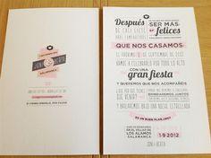 Invitaciones para bodas vintage