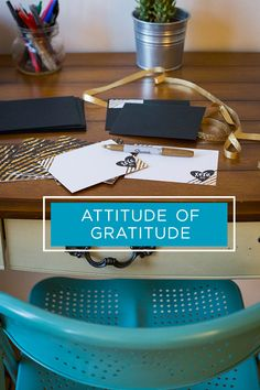Attitude of Gratitude - ways to say Thank You