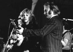 Stevie Nicks and Stephen Stills