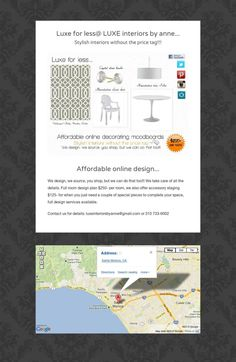 Luxe for less@ LUXE interiors by anne...