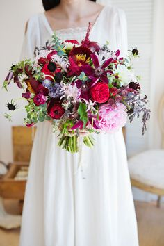 Get inspired: What an absolutely gorgeous #wedding bouquet!