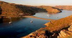 The magic place: Kolona beach Kythnos island Cyclades Greek Beauty, Underwater Creatures, Greek Islands, More Photos, Beaches, Greece, Magic, River, Outdoor