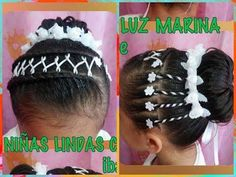 PEINADO DE PRIMERA COMUNION / FIRST COMMUNION HAIRSTYLE - YouTube Pasta, Hairstyle, Halloween, Youtube, Fashion, Cute Girls Hairstyles, New Hairstyles, Party Hairstyles, Girls Dresses