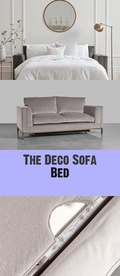 The Deco Couch Mattress - Decoration Mattress Couch, Sofa Bed, Settee, Armchair, Pastel Shades, Spare Room, Upholstery, Ottoman, Cushions