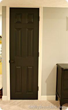 doors make my house a home pinterest gray doors and black doors. Black Bedroom Furniture Sets. Home Design Ideas