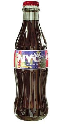 NYC Coca- Cola bottle PD