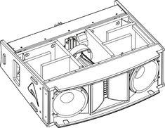 Resultado de imagem para speaker plans Pro Audio Speakers, Audiophile Speakers, Built In Speakers, Car Audio, Horn Speakers, Subwoofer Box Design, Speaker Box Design, Speaker Plans, Cabinet Plans
