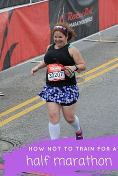 Thinking about running a half marathon? Check out these lessons I have learned along the ways for a successful race