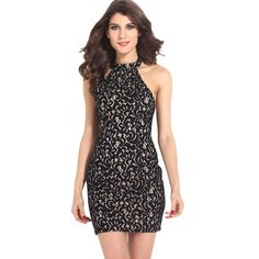 Sleeveless Lace Fabric Pencil Plus Dress