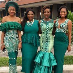 Latest Aso ebi Styles: Elegant 2019 Design for Wedding African Fashion Designers, African Inspired Fashion, Latest African Fashion Dresses, African Dresses For Women, African Print Fashion, Africa Fashion, African Attire, African Wear, African Clothes