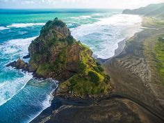 You can find beaches in almost every color of the rainbow, from pristine white sands to chic pink shores. But there's something particularly breathtaking about black sand beaches.