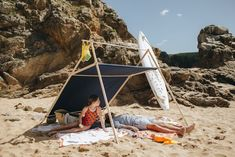tente-enfant-plage-parasol-deco-la-tente-islaise - Le blog deco de mlc