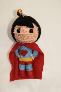 Superman string doll for Stephen