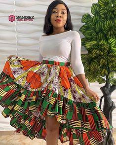 latest ovation ankara styles,nigerian ankara styles catalogue ankara styles for men African Print Skirt, African Print Dresses, African Dresses For Women, African Print Fashion, African Attire, African Prints, Ankara Long Gown Styles, Ankara Styles, Ankara Designs