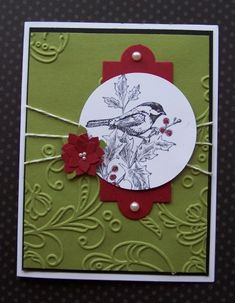 Boho Blossoms Poinsettia by TrishG - Cards and Paper Crafts at Splitcoaststampers