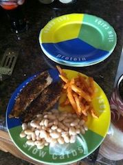 One of my favorite fat loss meals on my Food Lovers plate :)