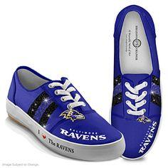 00c59f1b562 I Love The Ravens Women s Shoes