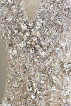 Elie Saab crystal beadwork♥ ╬ ♥