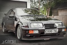 A 1987 Ford Sierra Cosworth with just 11000 miles from new has sold at Silverstone Auctions this weekend for a massive Chevrolet Trucks, Chevrolet Impala, Ford Trucks, 1957 Chevrolet, 4x4 Trucks, Lifted Trucks, Ford Sierra, Ford Rs, Car Ford