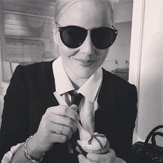 Abbie Cornish wears Karen Walker eyewear - available online at Sisters & Co www.sistersboutique.co.nz