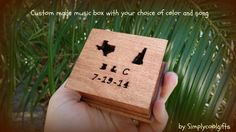 music box musical box music boxes wooden music by Simplycoolgifts
