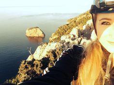 Klettern in Soller am Felsen Penyal Bernat   Vera auf Mallorca Grand Canyon, Nature, Travel, Rocks, Climbing, Majorca, Naturaleza, Viajes, Trips