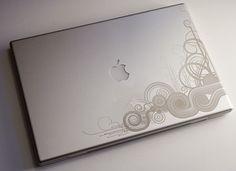 engraved Mac