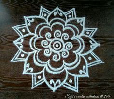 Rangoli Kolam Designs on Happy Shappy in Here you can find the most beautiful & Simple design, photos, images, free hand and more in Small & Large design Ideas Easy Rangoli Designs Diwali, Rangoli Simple, Simple Rangoli Designs Images, Rangoli Designs Latest, Rangoli Designs Flower, Free Hand Rangoli Design, Small Rangoli Design, Colorful Rangoli Designs, Rangoli Ideas