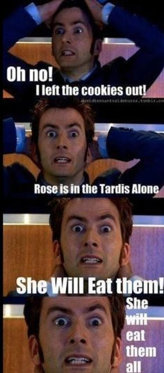 Haha Doctor Whoomour (get it? Its like humour with doctor who-ness. Doctor Who Tardis, Die Tardis, Doctor Who Funny, Doctor Humor, Doctor Who Quotes, 10th Doctor, Geronimo, Anne Taintor, Funny Videos