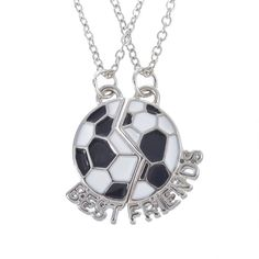 "Love Soccer? Get this Soccer Necklace and keep the game on your heart. Free Shipping! Get 30% OFF this Soccer Necklace today! Just click the ""Add to Cart"" button above! We have very limited stock; the"