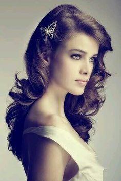 Love this hairstyle  #hairstyle #hair #curls #locken #frisur #haare #beautiful