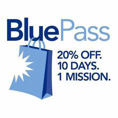 Pass this year purchase a blue pass for 30 and receive 20 off your